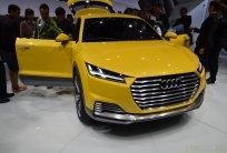 Audi TT, offroad concept