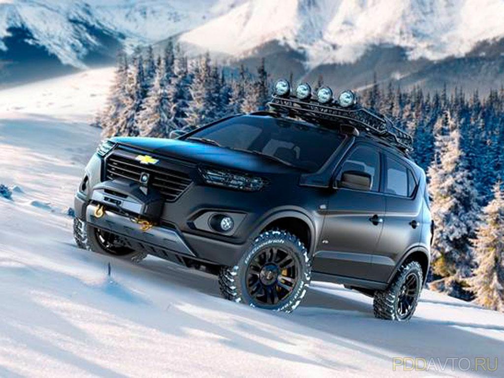 Chevrolet Niva, новая, 2014