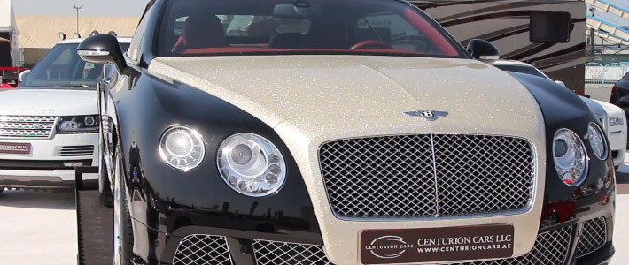брильянтовый капот, Luxury Refinish, Bentley Continental GTC 32
